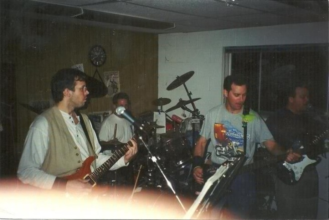 Practicing in Toxic Music Studios c. 1998